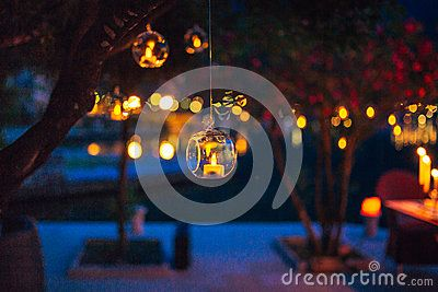 Wedding Decor, Candles In Glass Flasks - Download From Over 60 Million High Quality Stock Photos, Images, Vectors. Sign up for FREE today. Image: 90848007