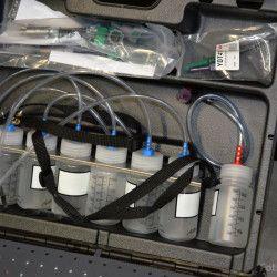 Servis vstřikovacích čerpadel a vstřikovačů provádíme na moderní stanici IFT-70 Hartridge. Jde o IFT-70 (Injector Function Tester) – zkušební stanici vstřikovačů Common Rail všech výrobců. Stanice IFT-70 se skládá ze 3 částí: Základ stanice s měřením do sklenic a generátorem tlaku 750 bar...