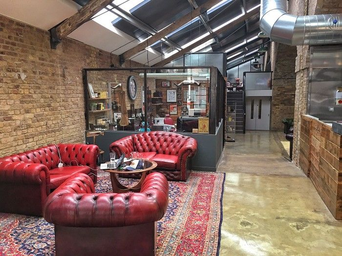 Man Cave Hair Lounge : Best vintage industrial decor garage images on