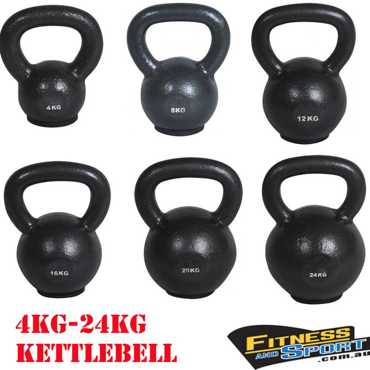 4Kg-24Kg Russian Classic Style Kettlebell Gym Strength Weights Training  Exercise