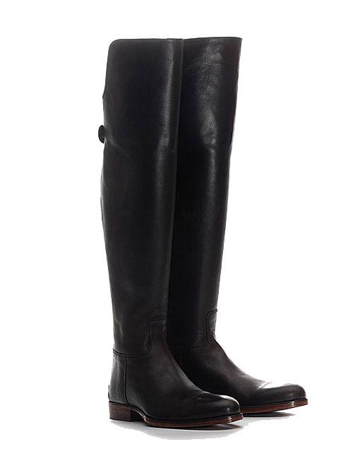 Overknee boots Black