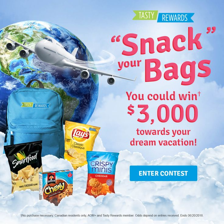 """""""Snack"""" your Bags Contest"""
