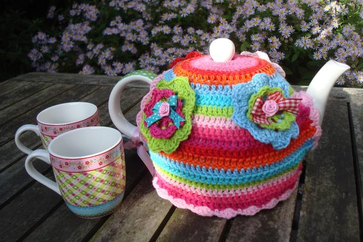 gehaakte theemuts/crochet teapot