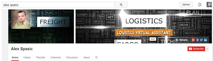 Alex Spasic yout Tube Channel Art-Logistics VA