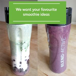 We're compiling a list of favourite smoothie recipes and we'd love to hear about the ingredients that you love to include. Tell us what you love to smoothie or email us your recipes. Smoothies are a great way to pack nutritious foods into your diet and the thick, shake-like format makes them easy and delicious …