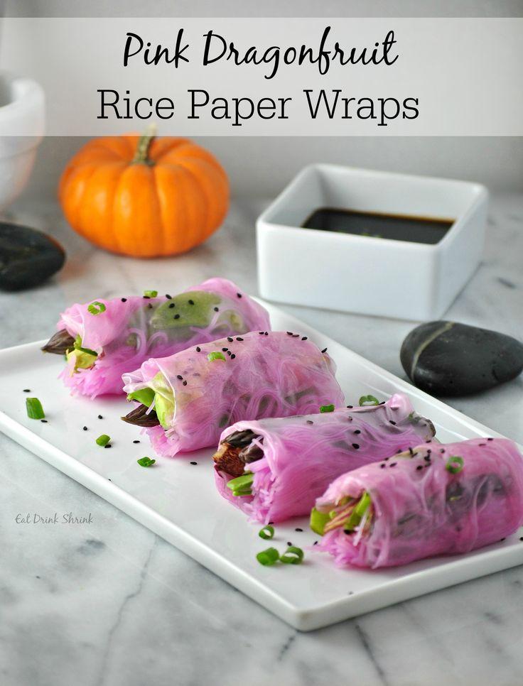 507 best korean food images on pinterest korean food recipes pink dragonfruit rice paper wraps with homemade korean bbq sauce vegan forumfinder Image collections