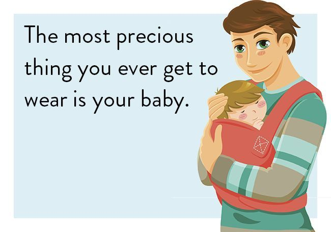 The most precious thing you ever get to wear is your baby. #quote #babydragen