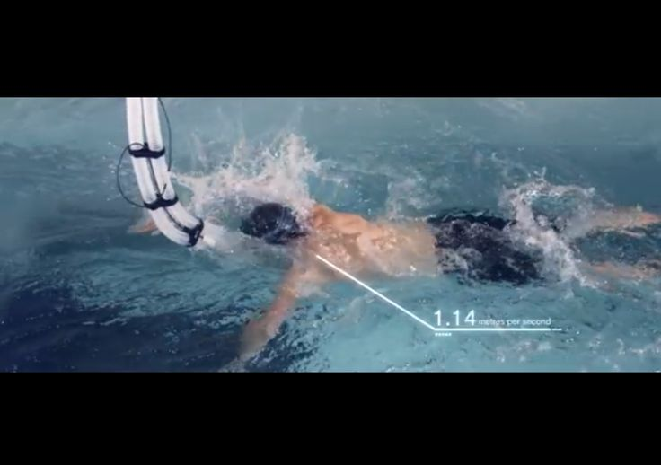 GSK HPL Iconic Brownlee - British triathlete Jonathan Brownlee with K4b2 and Aquatrainer