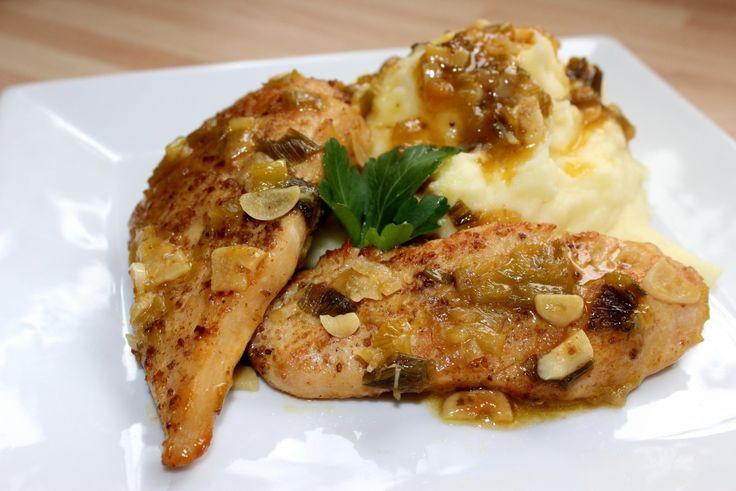 Pikáns fokhagymás csirke recept