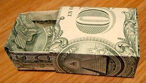 Origami Dollar Box – #BOX #dollar #dollarbills #Or…