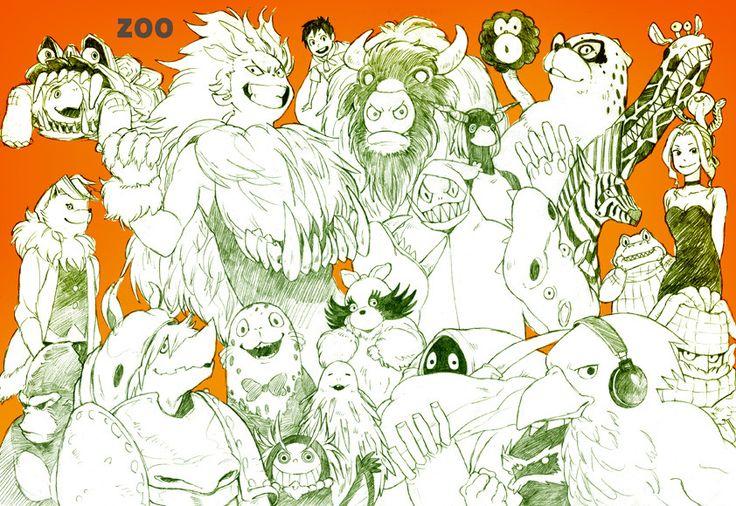 oumagadoki doubutsuen oumagadoki zoo Pixiv   heyitslollie.tumblr.com