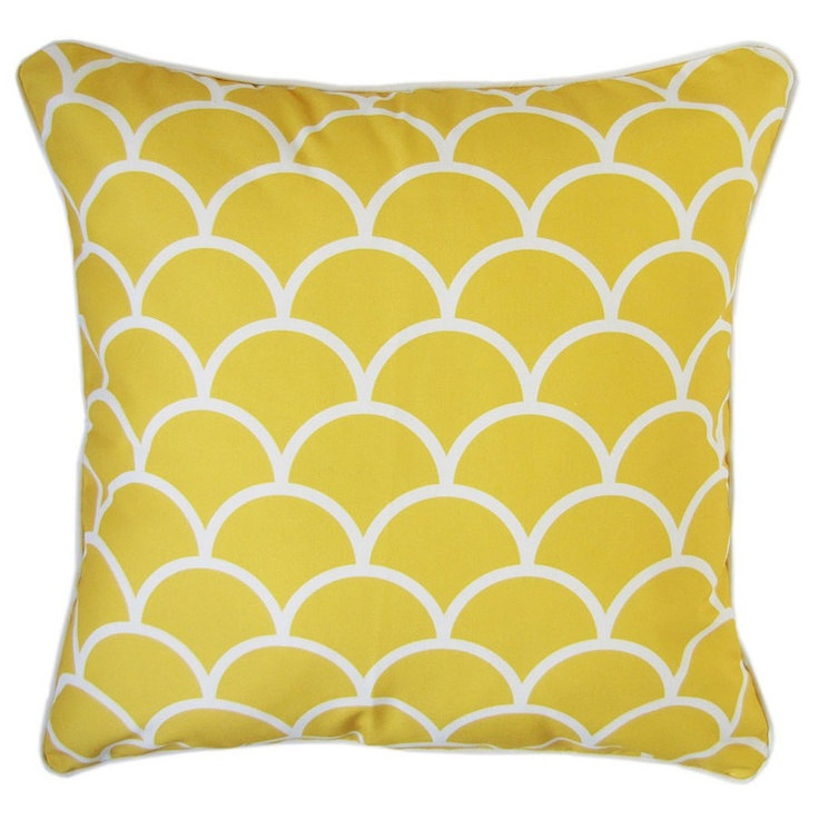 Yellow Sunshine Oasis Cushion Cover - Escape to Paradise - on Temple & Webster today.