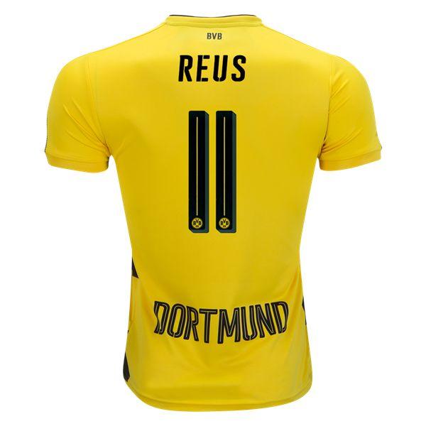 PUMA Marco Reus Borussia Dortmund Home Jersey 17/18