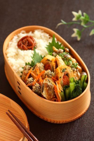 小アジの南蛮漬け弁当の画像:Linmal's Kitchen ~金沢の旬の味と毎日のお弁当