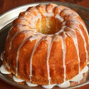 Almond Sour Cream Pound Cake  from Cooking.com recipe of the day