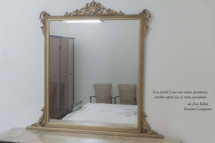 #zerokilled #libro #specchio