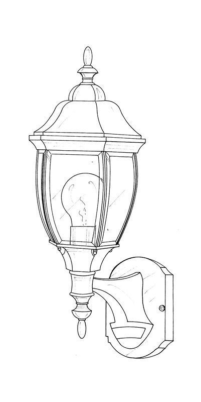 Designers Fountain 2420md Ag 1 Light 6 5 Wall Lantern With Motion