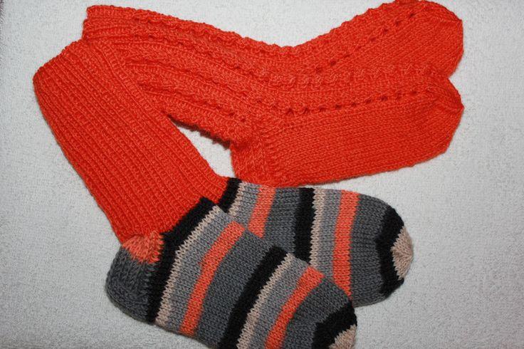 Weiteres - Handgestrickte Socken Gr. 26/27      2er Pack  - ein Designerstück von bastelmaus19 bei DaWanda