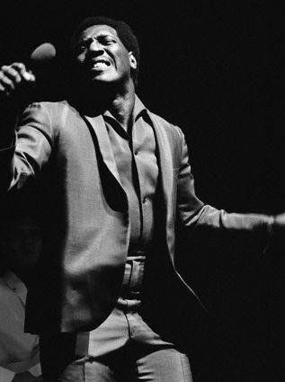 Otis Redding in concert
