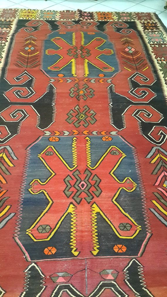 Check out this item in my Etsy shop https://www.etsy.com/listing/211649246/vintage-antique-caucasian-kilims-rugs