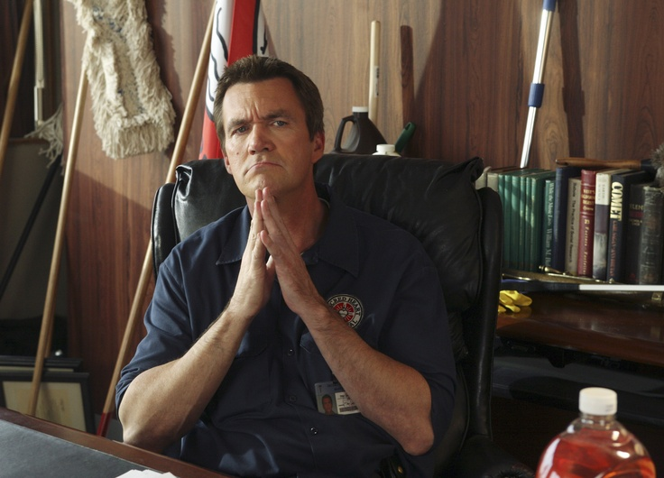 the janitor, from scrubsmiss that show! Scrubs Pinterest - another word for janitor