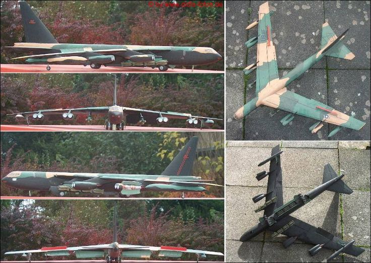 "Boeing B-52 ""Stratofortress"" (Monogram 8292) 1:72"