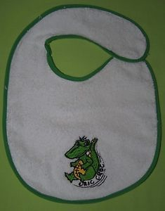 NEW Baby Bibs Special Cric Croc Logo TO Match Cric Croc Character | eBay