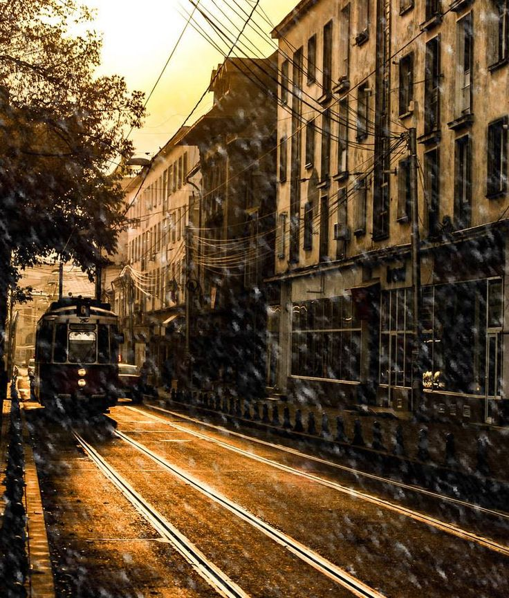 In Iasi started to snow! Credits to Alexandru Dragan