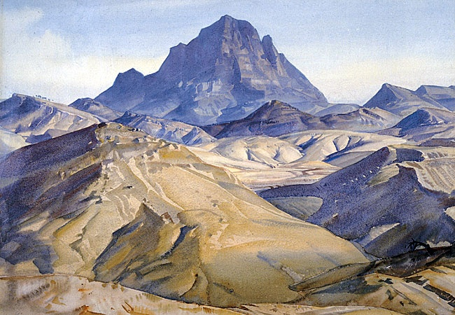 The Land Of The Oratunga by Hans Heysen (1932) Most famous for his large oil paintings but I think Heysen's watercolors are his best work. He had the ability to find the poetry in Australian outback landscape.