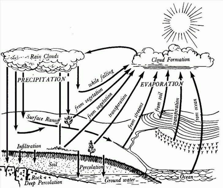 Water Cycle Coloring Page Water Cycle Drawing At Getdrawings Free For Personal Use Water Entitlementtrap Com Water Cycle For Kids Cycle Drawing Water Cycle