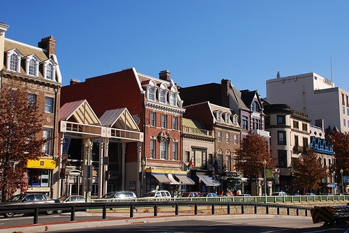 Dupont Circle in D.C. I walked this street every day.