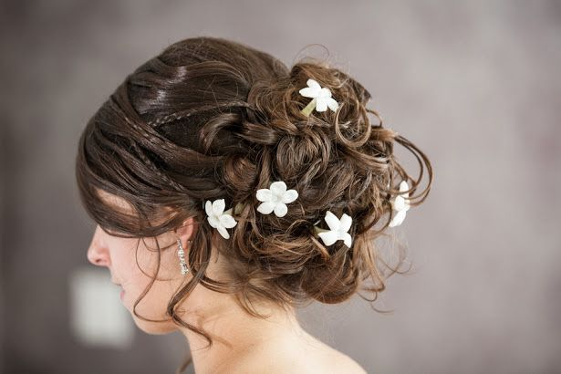 pretty bridal hairstyle - image by Paul Retherford Photography - #bridalhairstyle #weddinghair