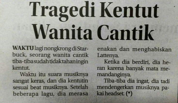 Tragedi kentut wanita cantik...