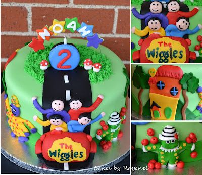 My Creative Way: The Wiggles Cake. Make your own birthday candle