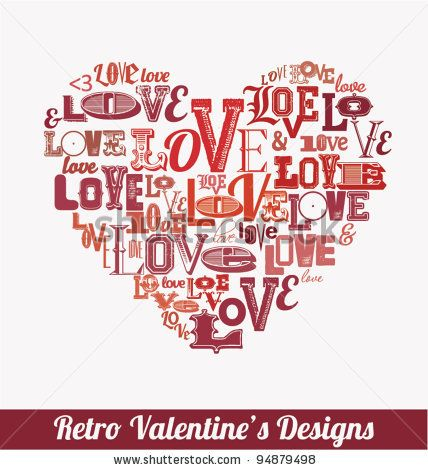 Valentines Day Design by Vilmos Varga, via Shutterstock