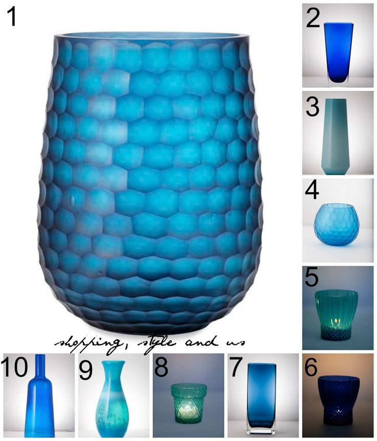 10 Options of Blue, Glass Vases and Fall Home Decor Inspiration for Your House