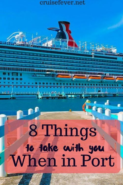 what items you should take with you off the cruise ship in port rh pinterest com