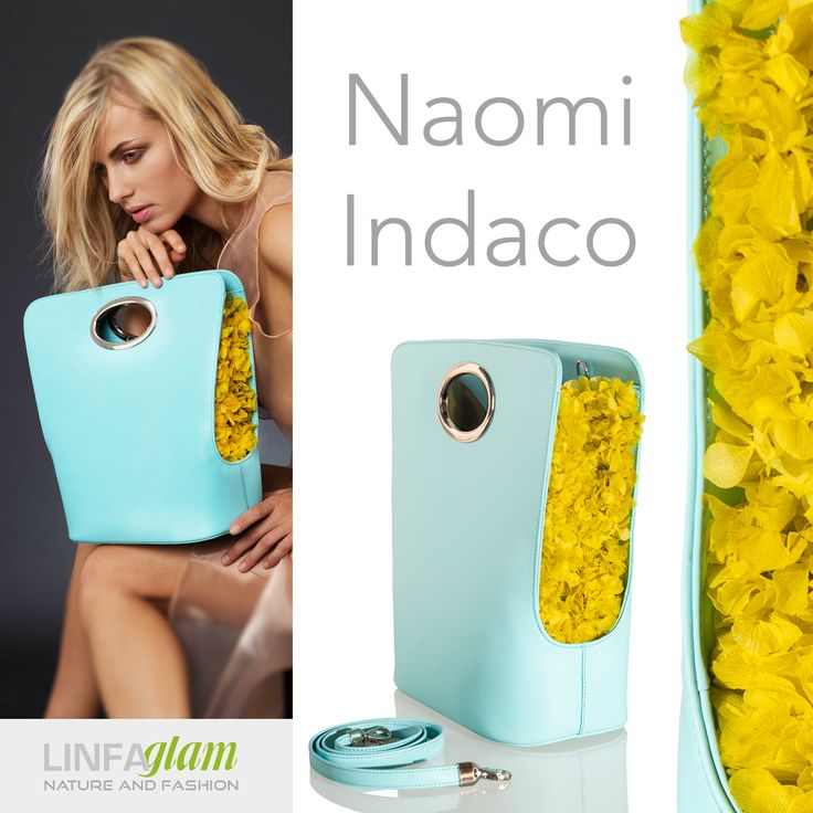 Naomi is colored in Limpet Shell and bright yellow: a young spirit full of grace and finess.More: http://www.linfaglam.com/en/ #rosequartz #serenity #pantone2016 #colors #fashion #moda #springcollection #ss16 #ss2016 #handbags #borse #trends #bag #bags
