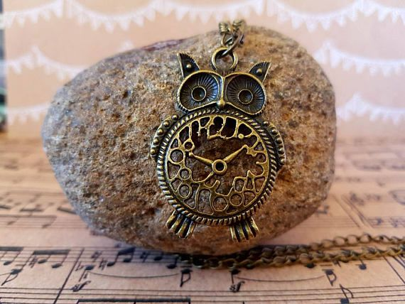 Check out this item in my Etsy shop https://www.etsy.com/au/listing/540320933/owl-pendant-necklace