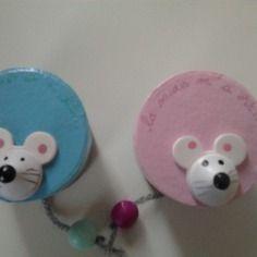 """Boîte à dents de lait """"la souris m'a dit..."""""""