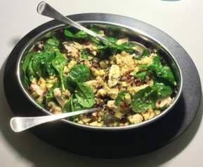 Recipe Chicken quinoa salad by Jilly Bloom - Recipe of category Main dishes - meat