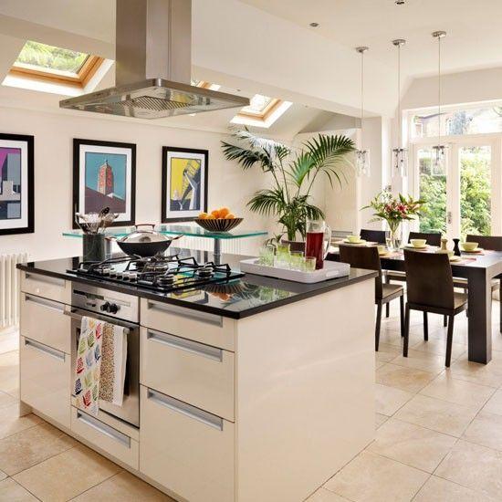 Die besten 17 Bilder zu Kitchen auf Pinterest Haus Küchen - offene küche mit insel