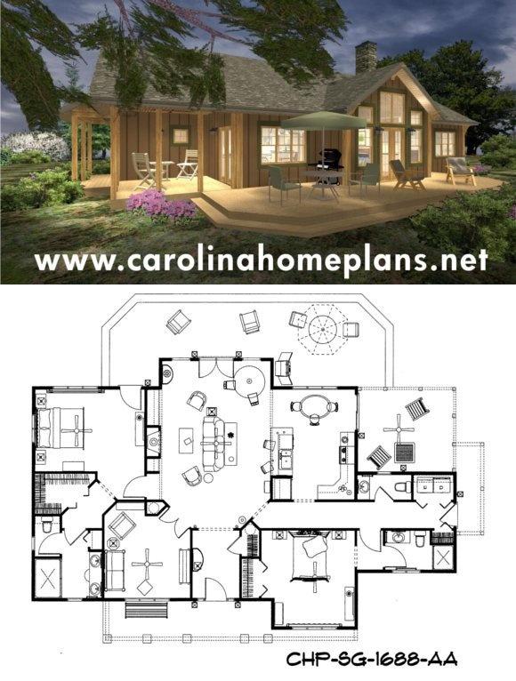 ideas about Coastal House Plans on Pinterest   House plans    Choose affordable house plans   d views of floor plans