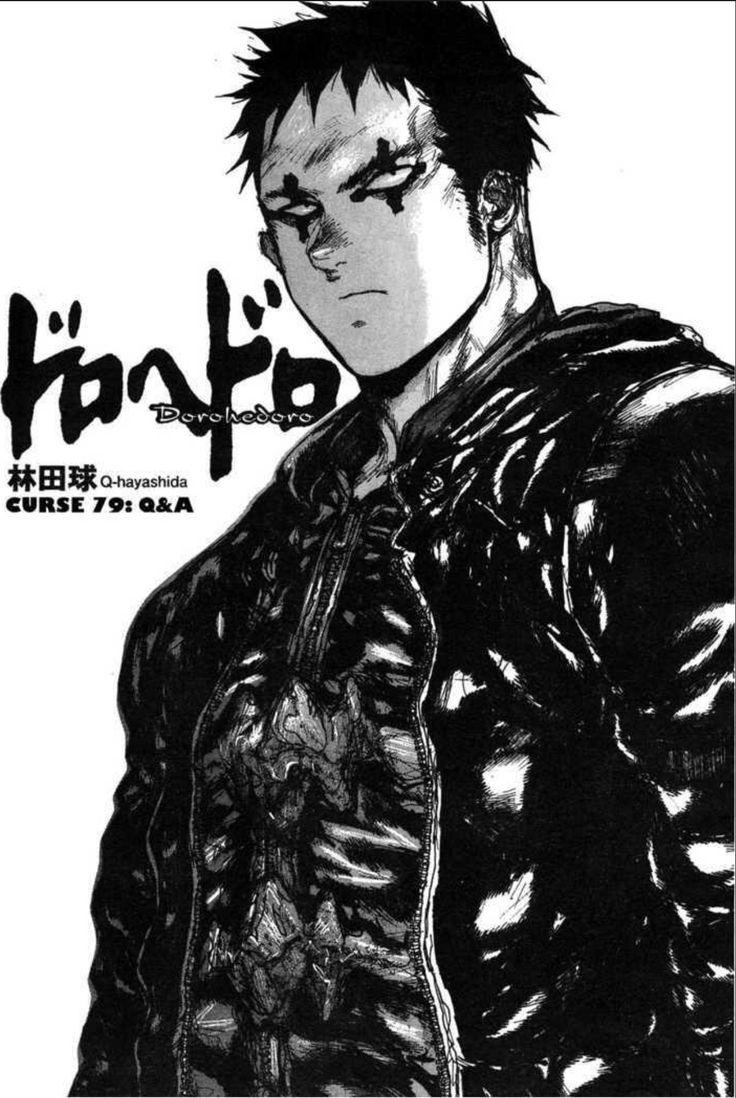 Dorohedoro Manga art, Character design