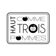 Scrapbooking - Tampons, Encres & Couleurs  - Artemio - Tampon bois - Haut comme trois pommes - 4 x 3 cm