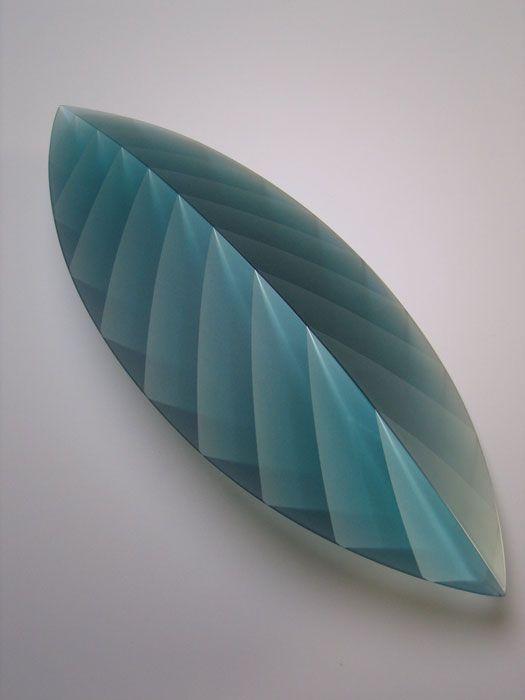 """""""Layers of Light"""" (glass) by KOJIMA Yukako, Japan"""