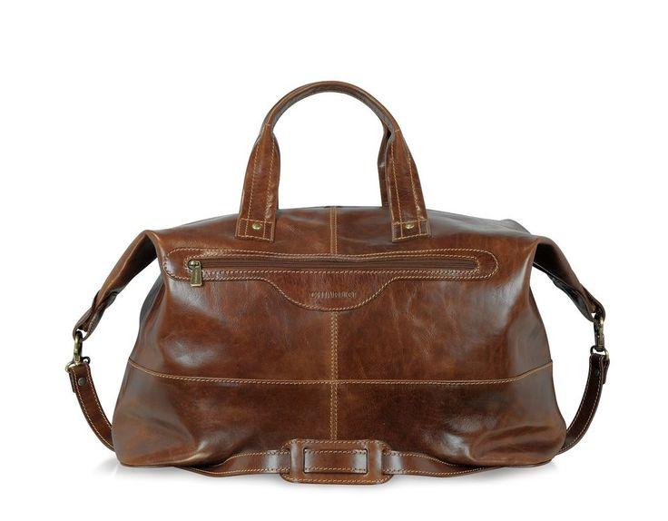 Chiarugi borsone da viaggio in pelle italian leather luggage bags weekender