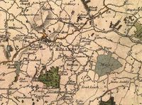 """St Helens, Merseyside - Wikipedia, the free encyclopedia St Hellens"""" as recorded in 1818 OS."""