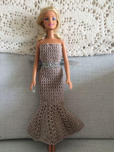 Mermaid Crochet Wedding Dress Pattern: Crocheted wedding dress ...