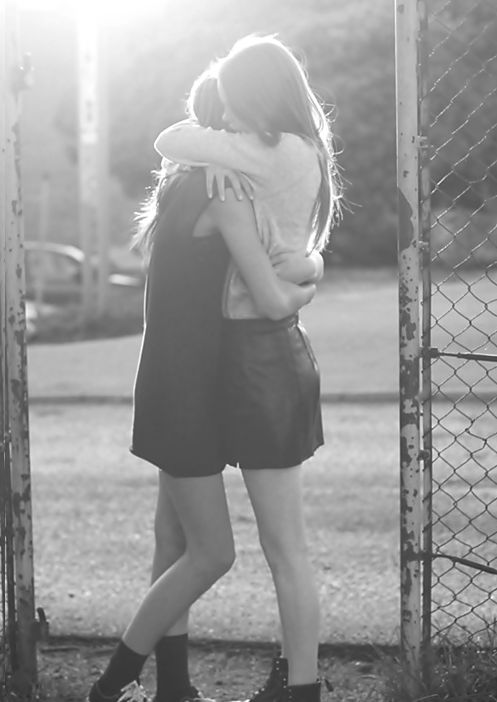 Sometimes the only thing you need is a hug from one of your best friends